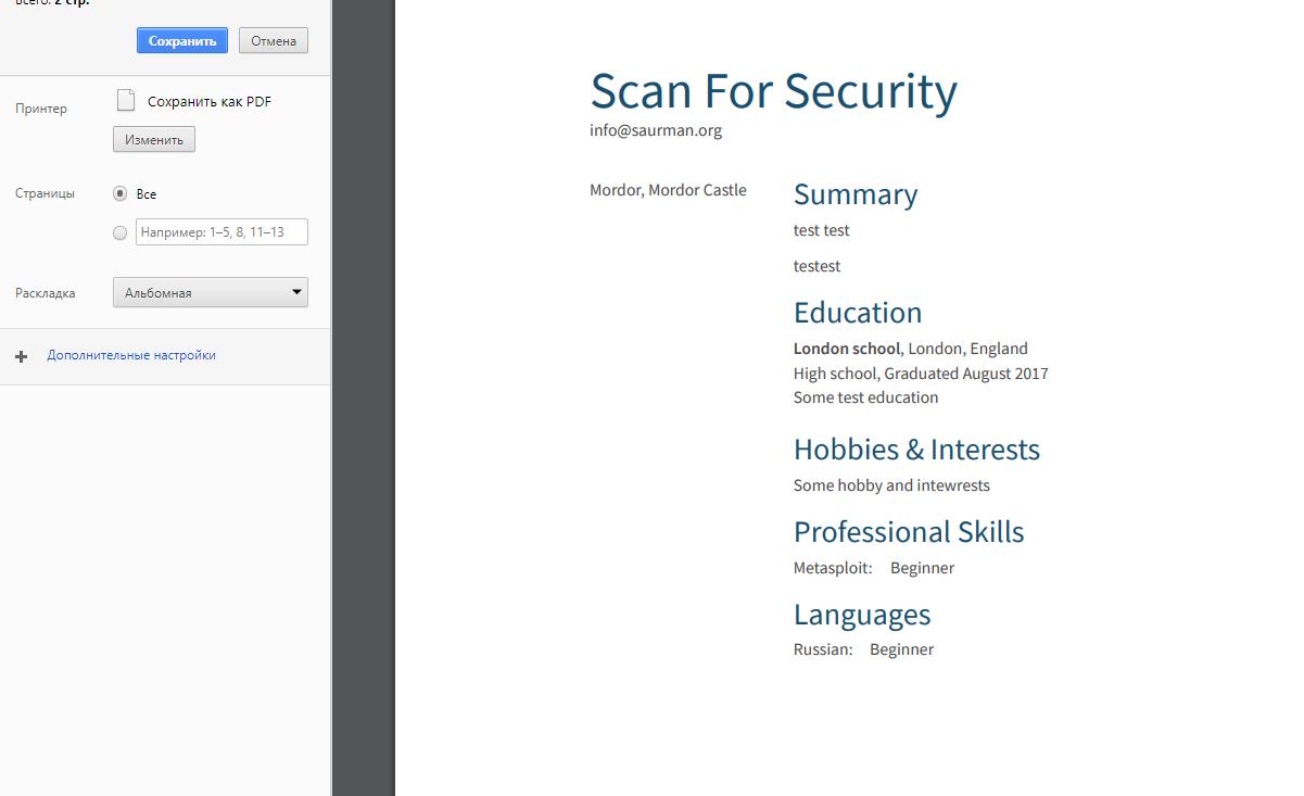 resume com limitation problem print cv in pdf for free scan for